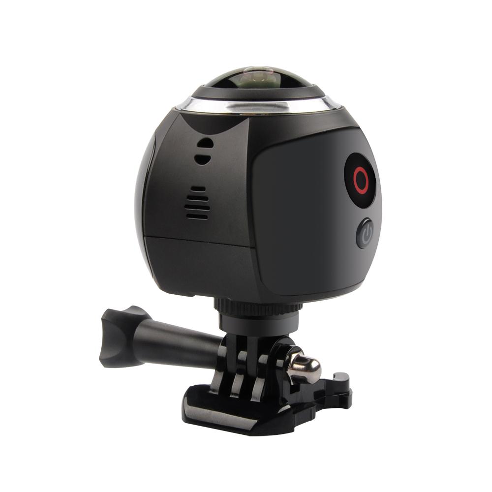 wifi hd vr 360 degree camera 4k 16mp dv panoramic sports. Black Bedroom Furniture Sets. Home Design Ideas