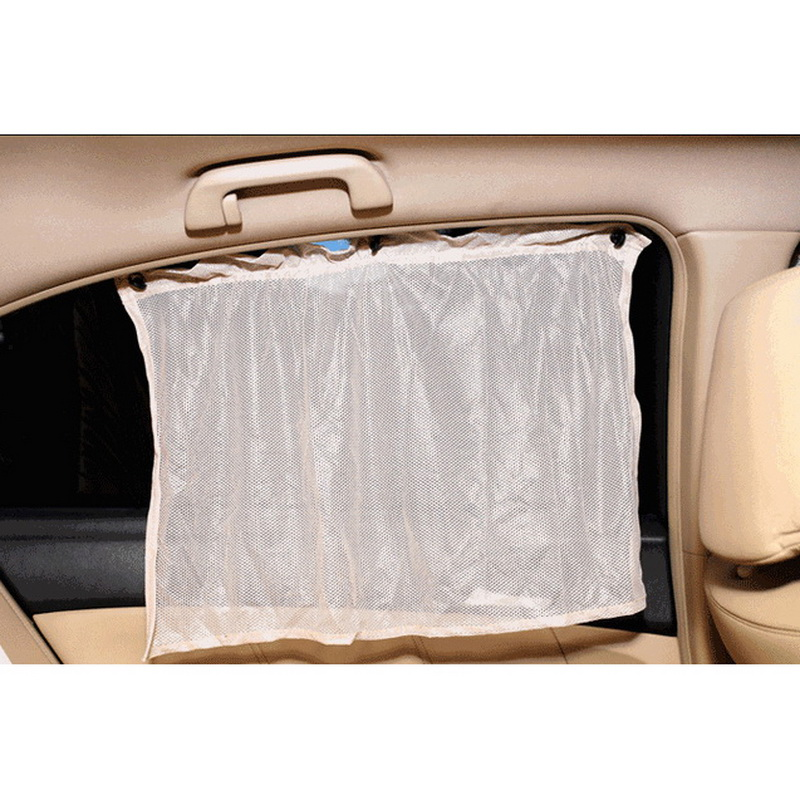 mode 2pcs car side window curtain auto interior uv protection sun shade ebay. Black Bedroom Furniture Sets. Home Design Ideas