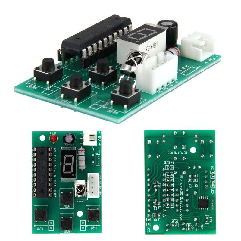 2-Stage 4-Wire Stepper Motor Driver Adjustable Speed Controller ...