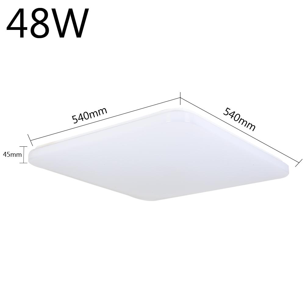 Led deckenleuchte 48w warmwei deckenlampe wohnzimmer panel k che b ro lampe neu 762360327448 ebay - Led buro deckenleuchte ...