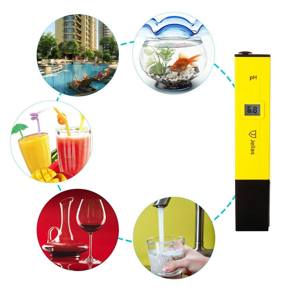 Digital pH-Meter Aquarium Pool Hydroponischen Monitor Trinkwasser Reinheit