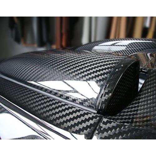 3D 4D 5D 6D Glossy Carbon Fiber Wrap Vinyl Decal Film ...