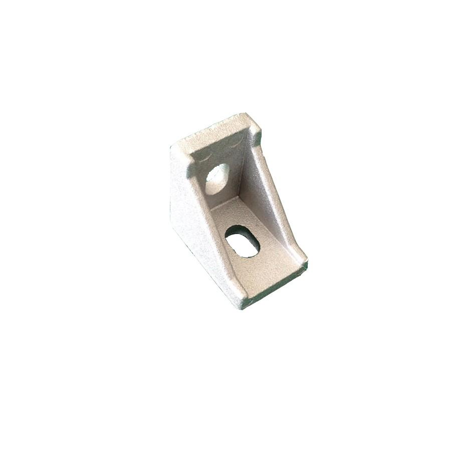 5pcs 4080 corner fitting angle aluminum L type connector bracket fastener