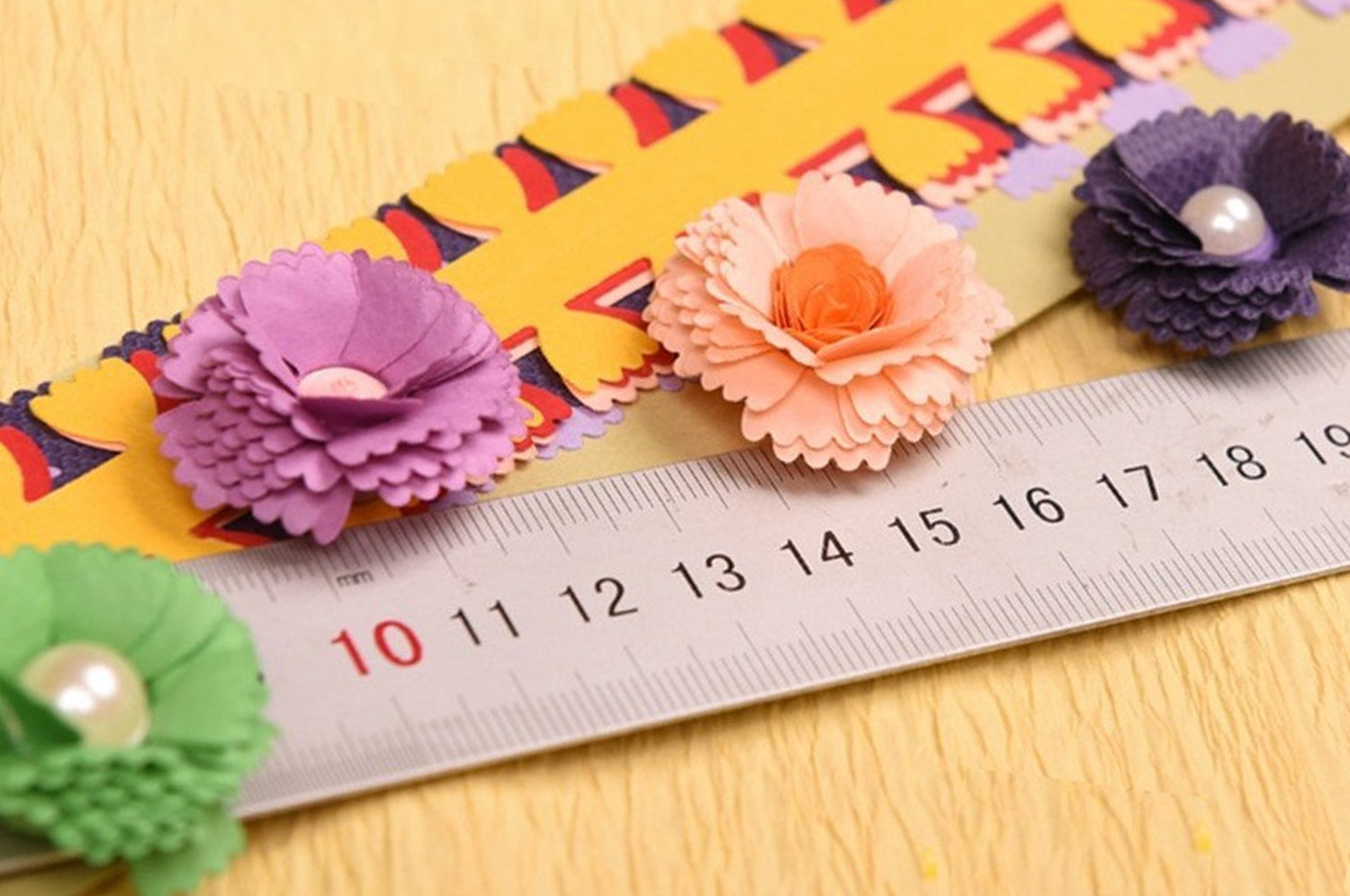 Diy 8 Style Flower Design Paper Quilling Strip Creations Make Paper