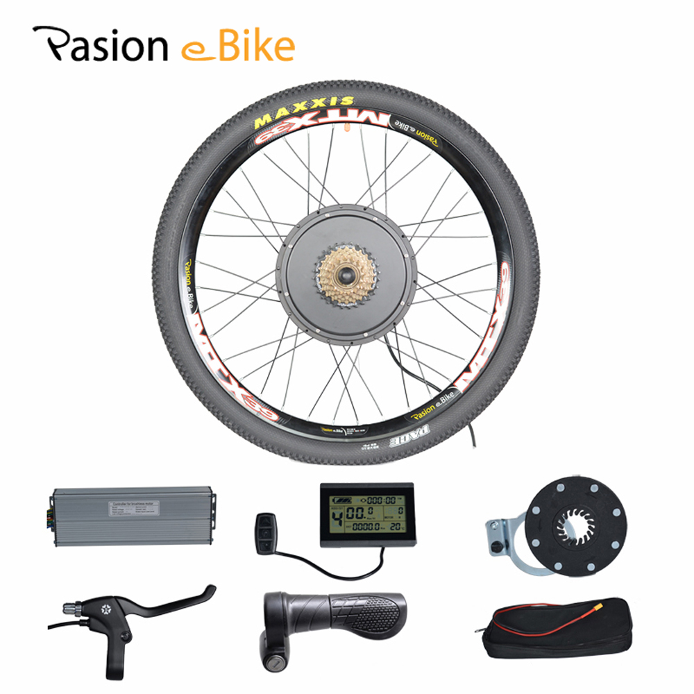 48v 1500w electric bicycle bike conversion kit for 20 24. Black Bedroom Furniture Sets. Home Design Ideas