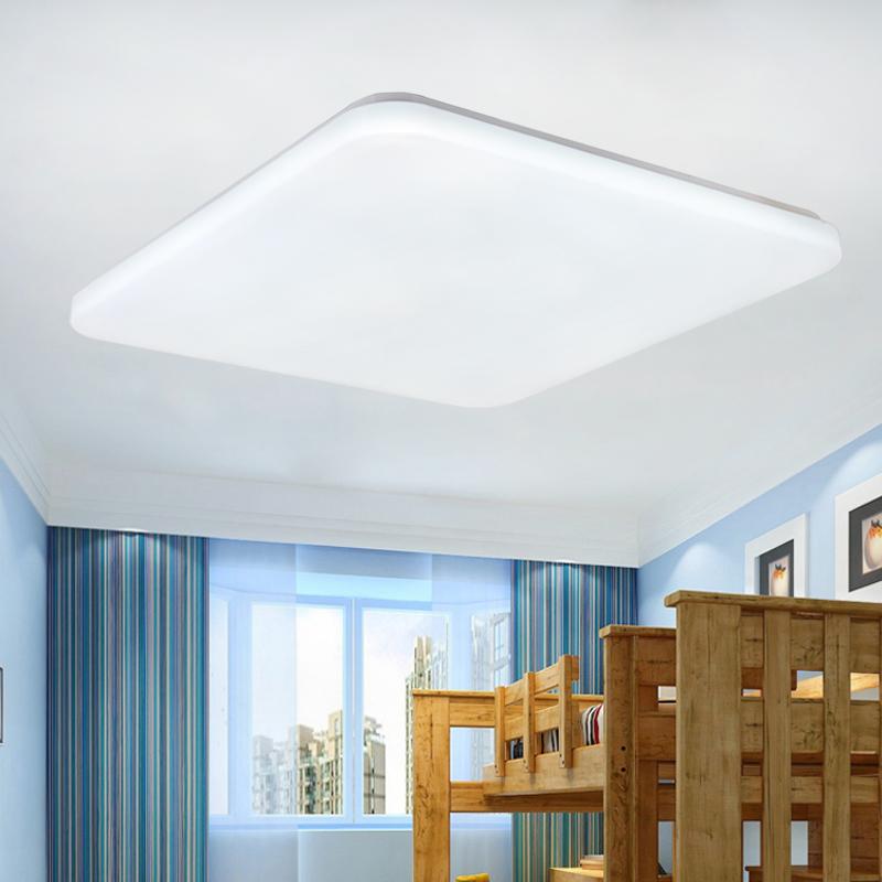 quadrat led deckenleuchte badlampe k che wohnzimmer flurleuchte designleuchte ebay. Black Bedroom Furniture Sets. Home Design Ideas