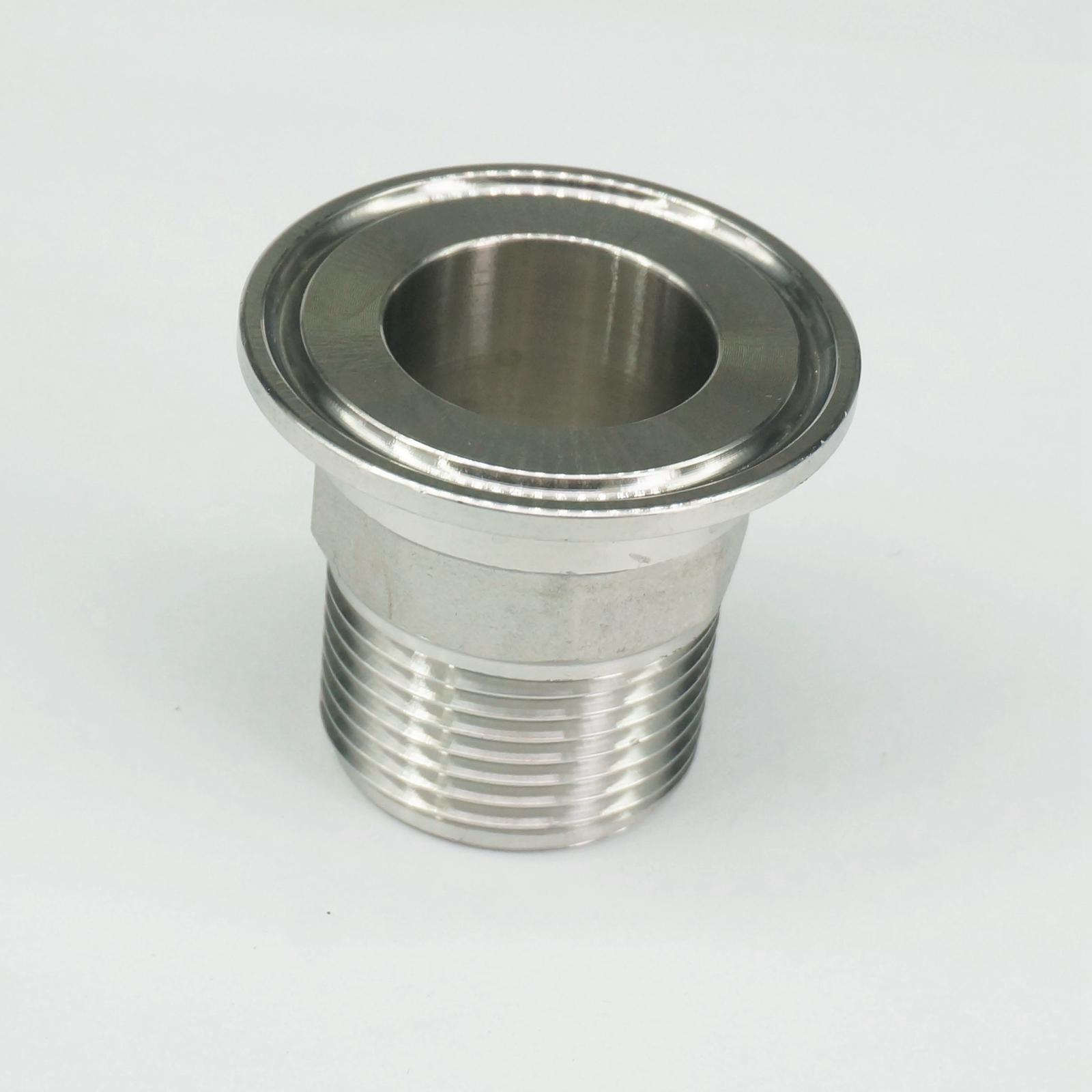 Sorekarain 3//4 BSP Male 1.5 Tri Clamp SUS304 Sanitary Fitting Hex Nut Connector Homebrew