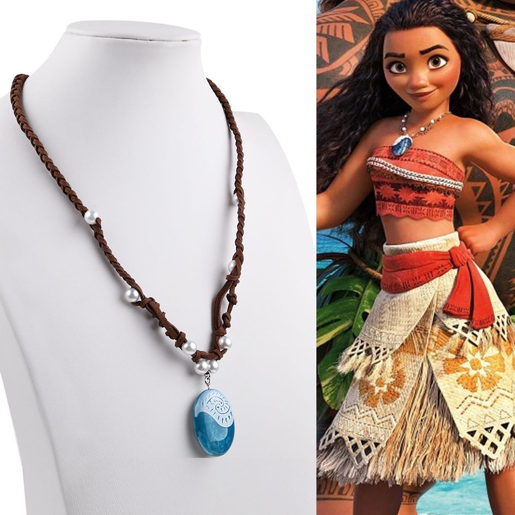 Moana Princess Vaiana Necklace Rope Cosplay Props Costume