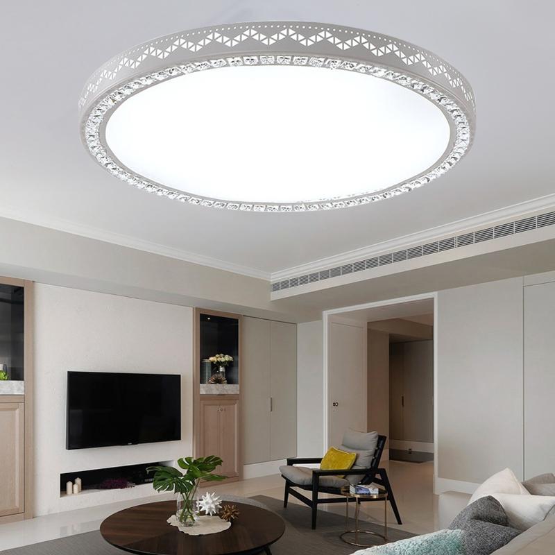 led kristall deckenleuchte 54w deckenlampe dimmbar. Black Bedroom Furniture Sets. Home Design Ideas