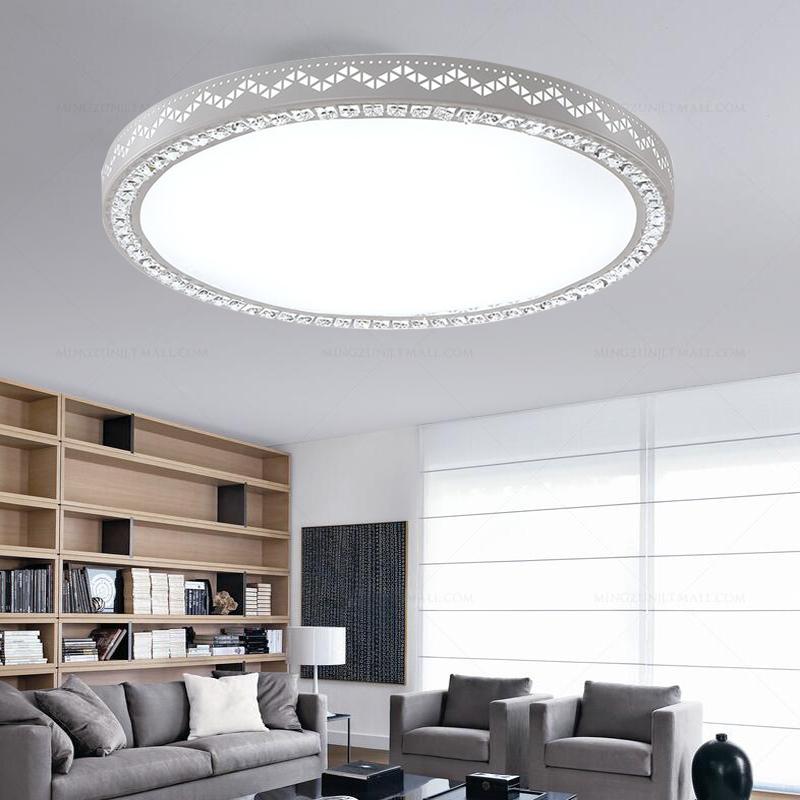 36w led kristall deckenleuchte runde kaltwei schlafzimmer flurleuchte wandlampe ebay. Black Bedroom Furniture Sets. Home Design Ideas