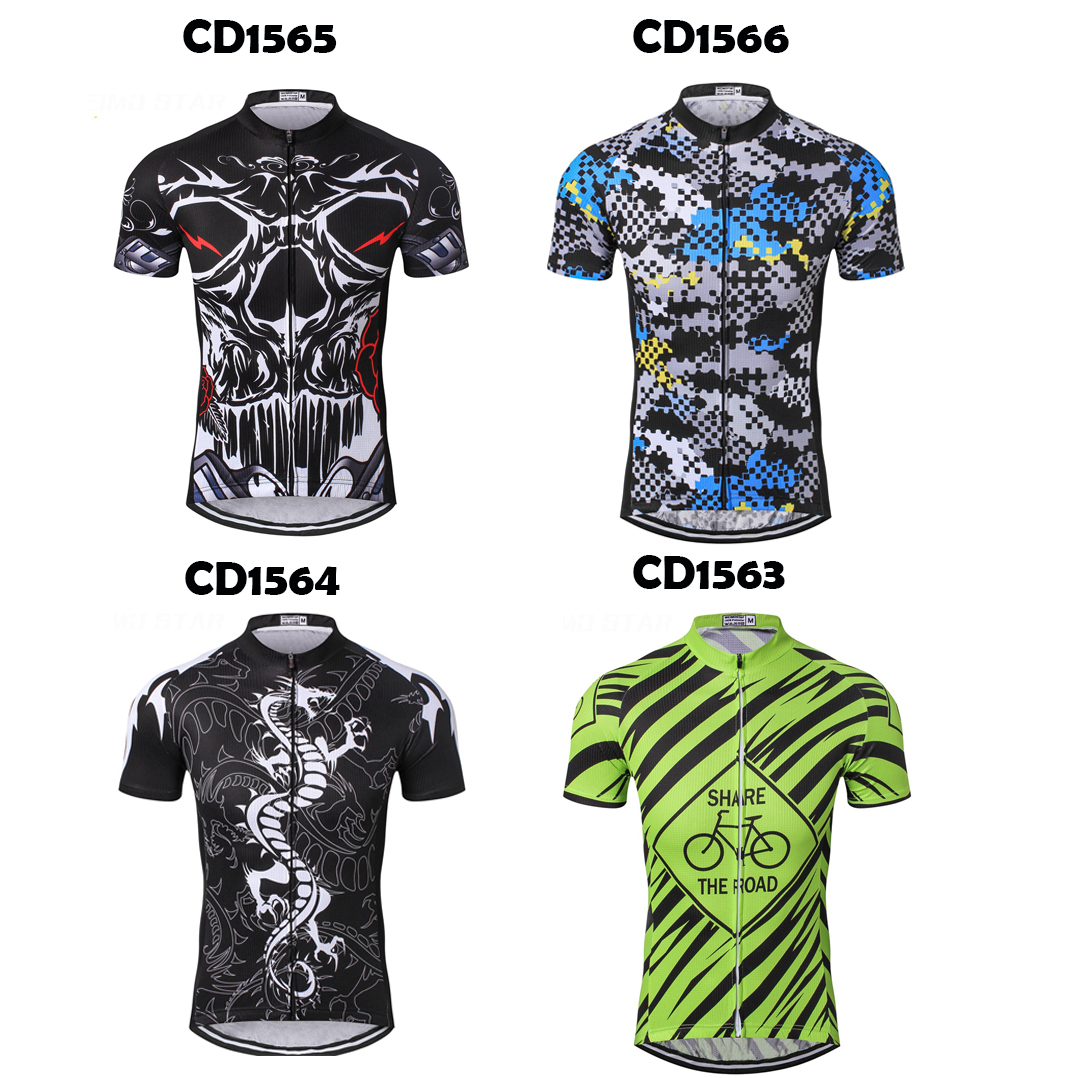 Details about 2017 Men Team Breathable Cycling Sports Jersey Clothing  Mountain Bike Shirts Top 5151de08e