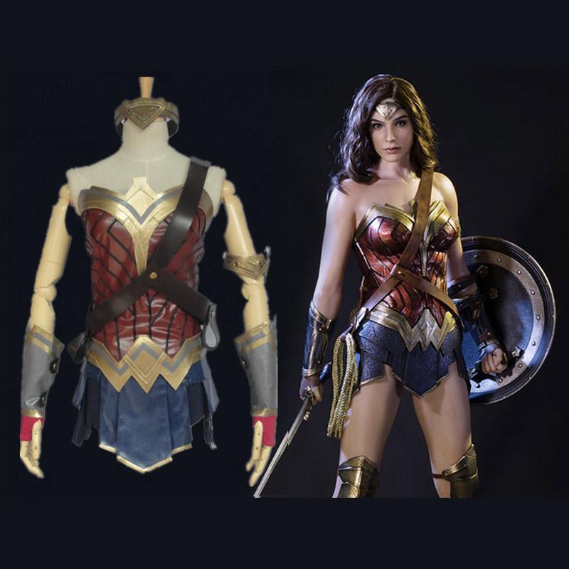 2017 Movie Wonder Woman Diana Prince Dress Cosplay Costume Ebay