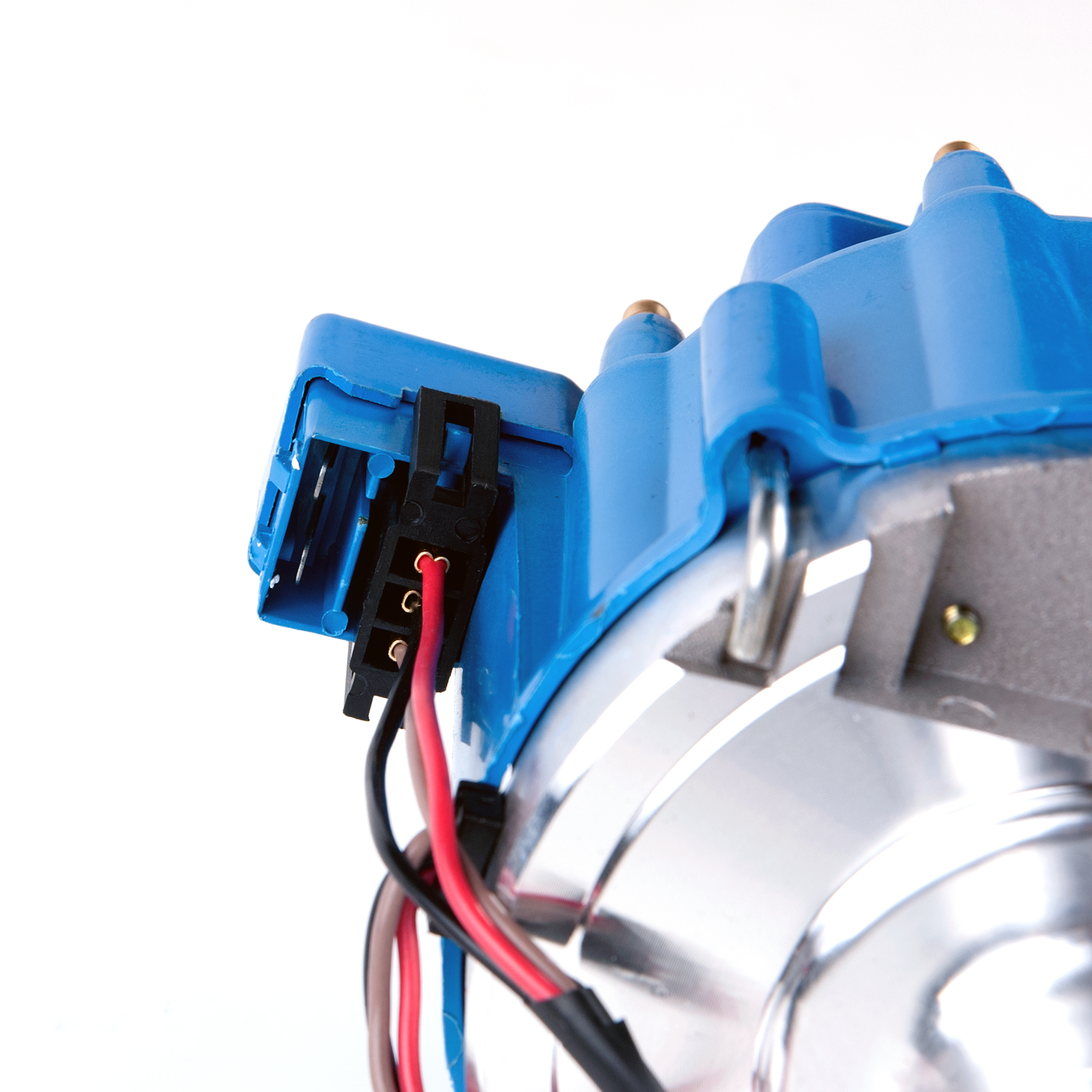 Sbf Ford Small Block 260 289 302 Hei Ignition Blue Cap Distributor W Wiring Application