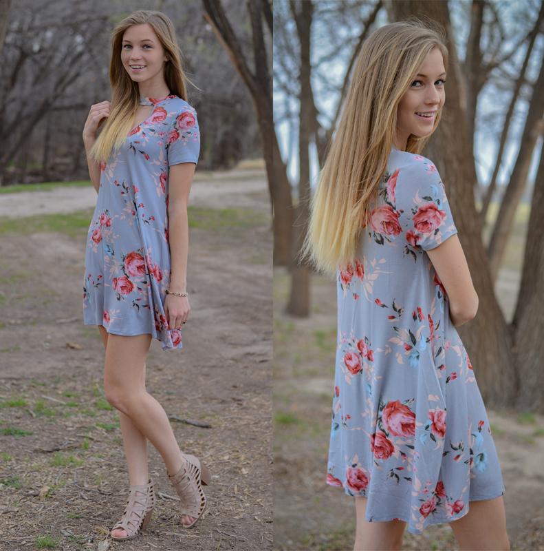 d51ab86328c Womens Holiday Short Sleeve Ladies Maxi Long Summer Print Beach Dress Size 6 -14