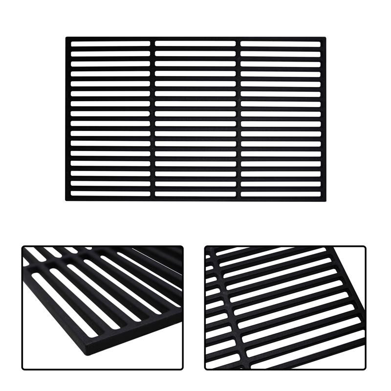 grillrost gu eisen gusseisen grillgitter grill emailliert grillaufsatz eckig ebay. Black Bedroom Furniture Sets. Home Design Ideas