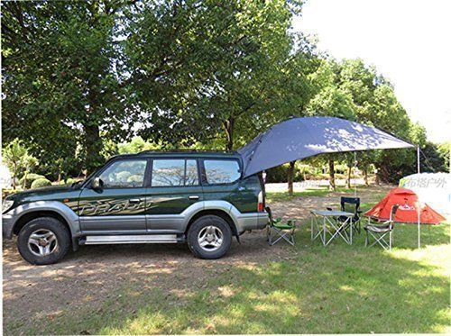 Car Camping Shelter : Awning rooftop suv shelter truck car tent trailer camper