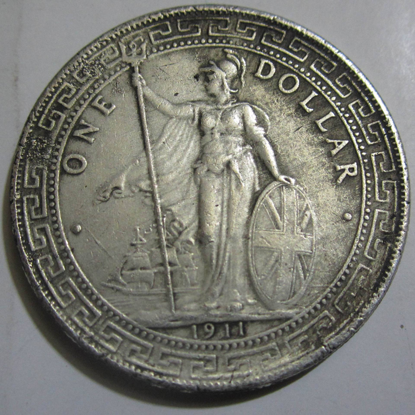 Ebay Co Uk: Ancient Coin 1911 British Trade One Dollar Silver Coin