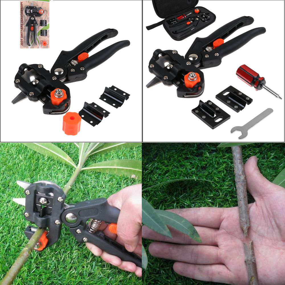 Uk nursery fruit tree pro pruner scissor tape garden for Garden cutting tool set