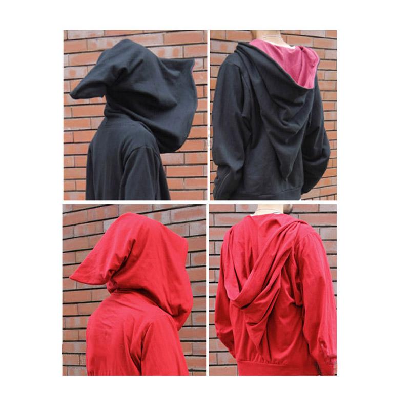 Magic Witch Wizard Costumes Casual Jacket Hoodie Sweatshirt Zipper Coat Cosplay