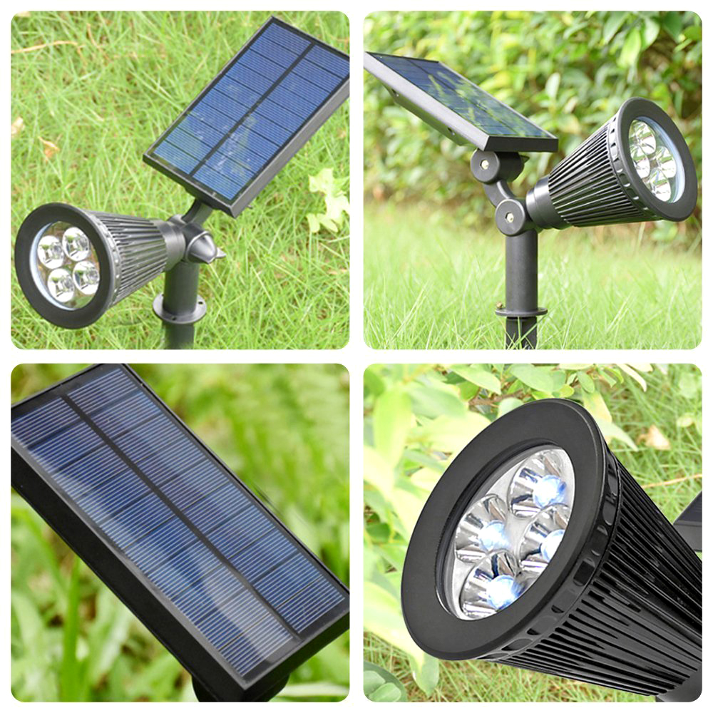 solar led spot lights spotlights garden lights outdoor