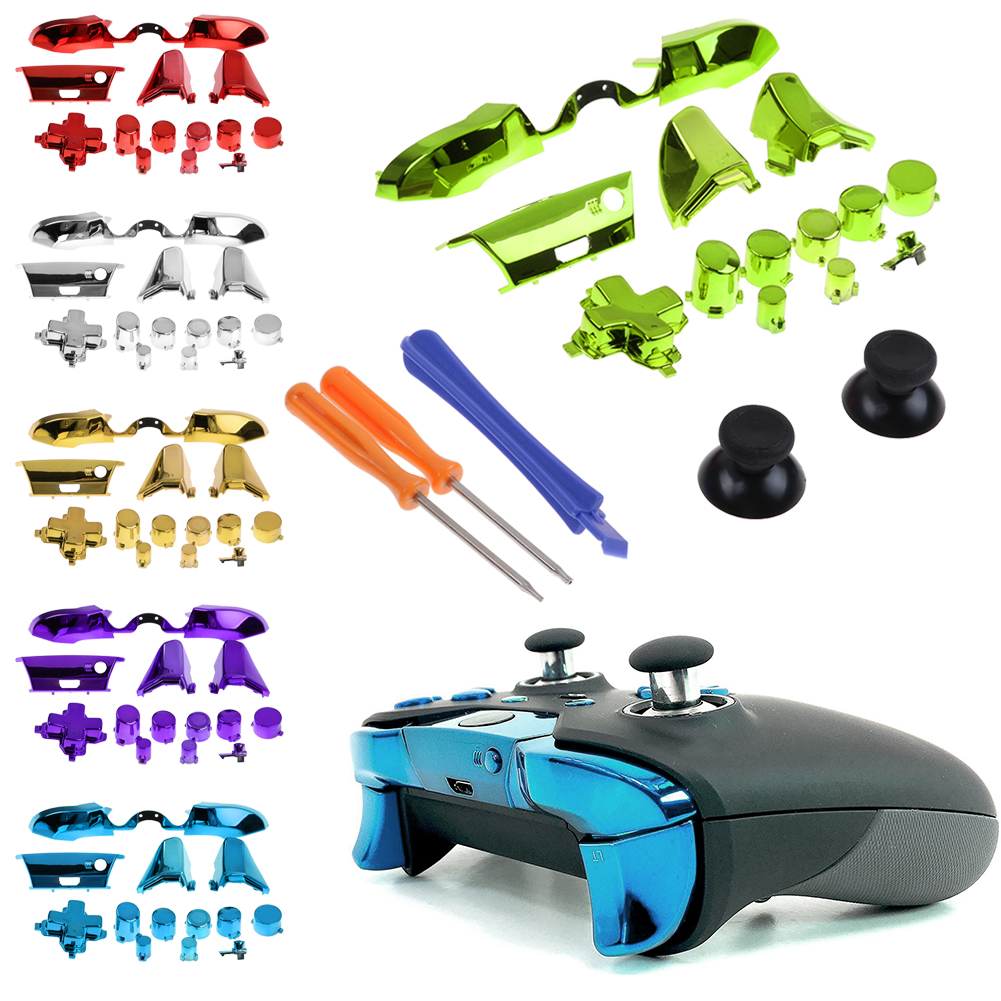 Details about New Full Set Buttons Replacement Parts for Xbox One  Controller 3 5 mm Jack Elite