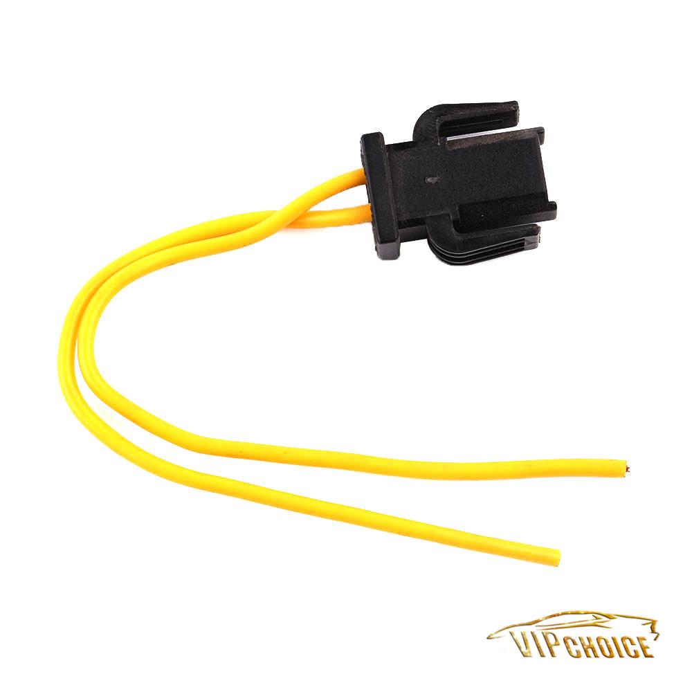 2 Pin Brake Tail Light Wiring Plug Socket Pigtail For Vw
