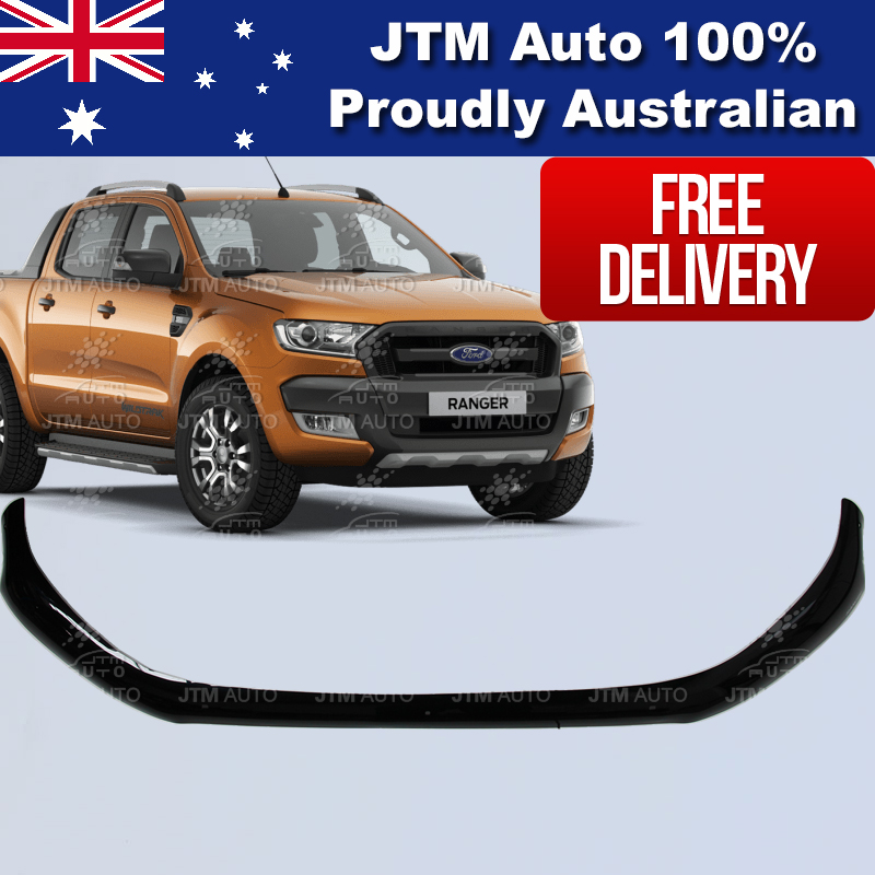Bonnet Protector Tinted Guard to suit Ford Ranger PX2 MKII OEM 2015-2018