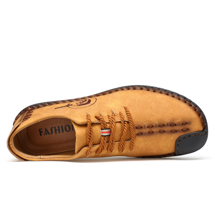 Mens Retro Soft Sole British Shoe