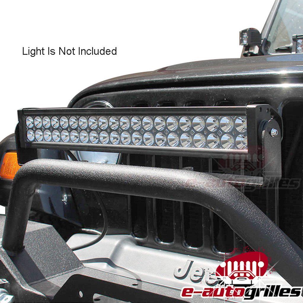 Details about 87 18 jeep wrangler tj yj jk front bumper pre runner led light bar bracket 87 16 jeep wrangler tj yj jk front bumper pre runner led light bar bracket aloadofball Image collections