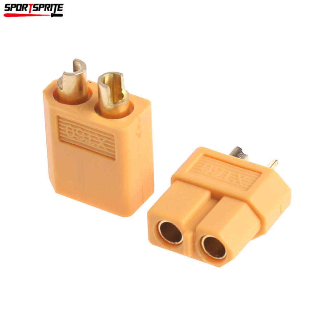 10pcs Male Amp Female Bullet Connectors Toy Model Car Plugs