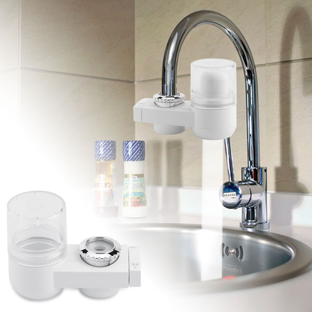 Instant Clean Water Tool : Faucet tap filter water clean purifier contaminants