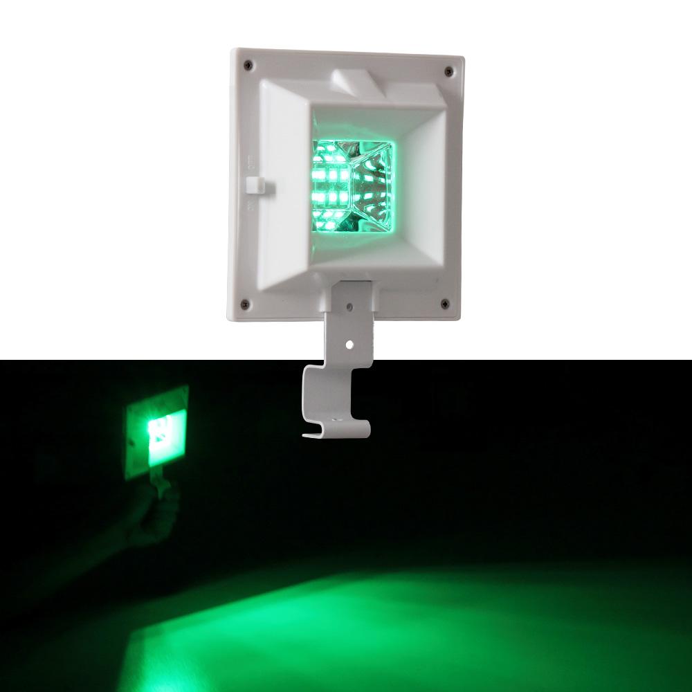 Green Outside Wall Lights : Solar Power Light Sensor 6 LED Gutter Lights Outdoor Wall Roof Garden Lamp Green eBay
