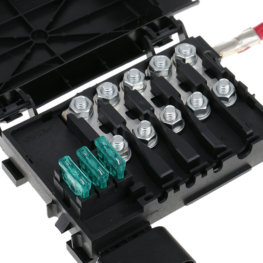 Fuse box battery terminal for vw golf mk bora jetta