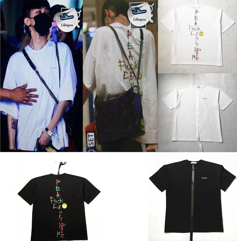 K-POP BIGBANG GD G-dragon T-shirt Trend G-DRAGON