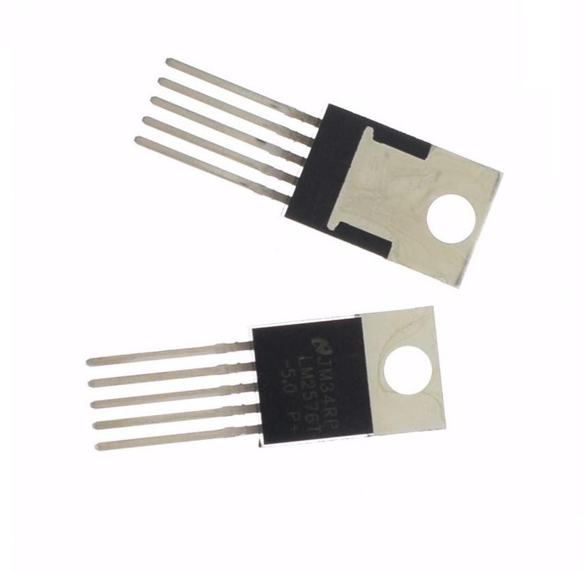 10PCS LM2576T-5.0 LM2576 IC REG BUCK 5.0V 3A TO220-5 NEW