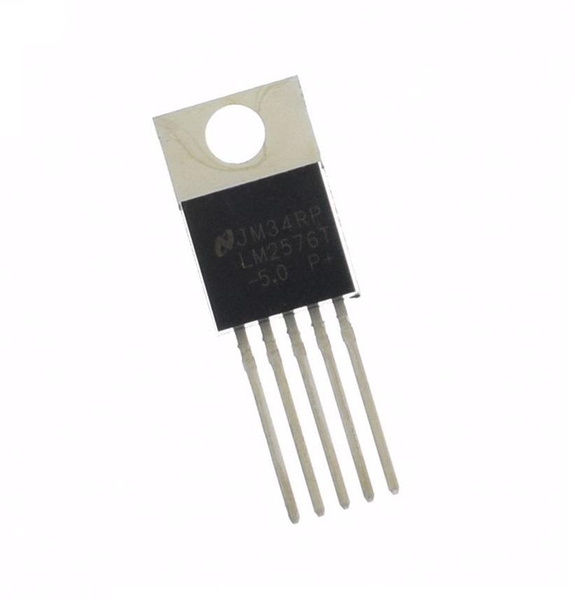 10PCS NEW LM2576T-5.0 LM2576 IC REG BUCK 5.0V 3A TO220-5 NEW