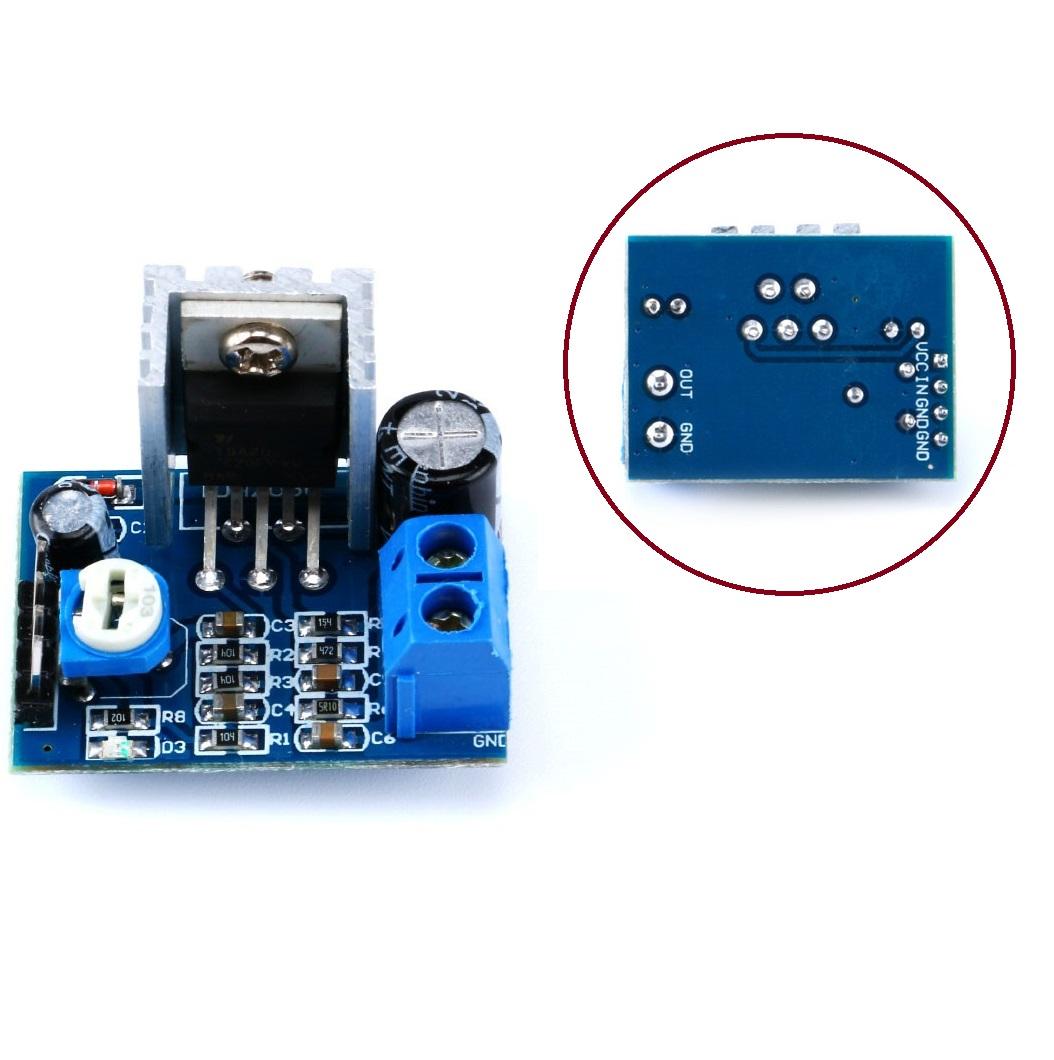 TDA2030A Audio Amplifier Module Power Amplifier Board AMP 6-12V 1*18W AP
