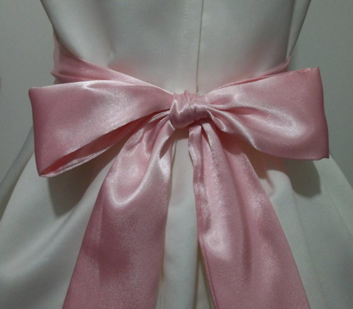 109 Quot Long Satin Sash Belt Ribbon For Wedding Bridesmaid