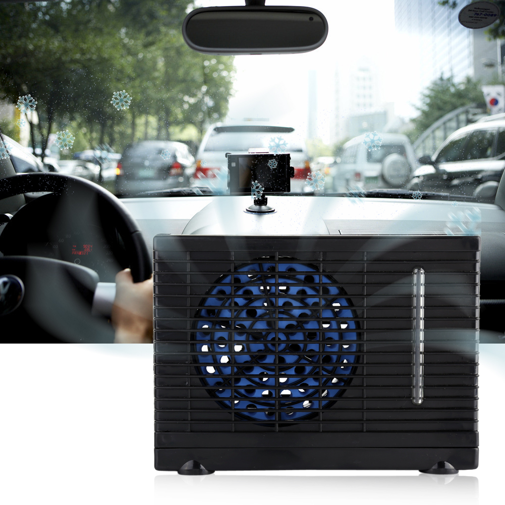 Portable Car Truck Cooler Cooling Fan Water Ice