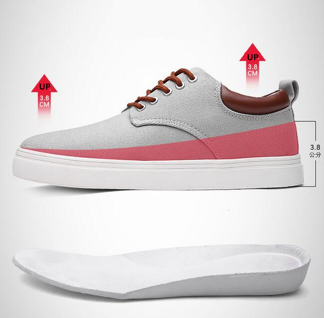 new style lace up canvas mens casual comfort