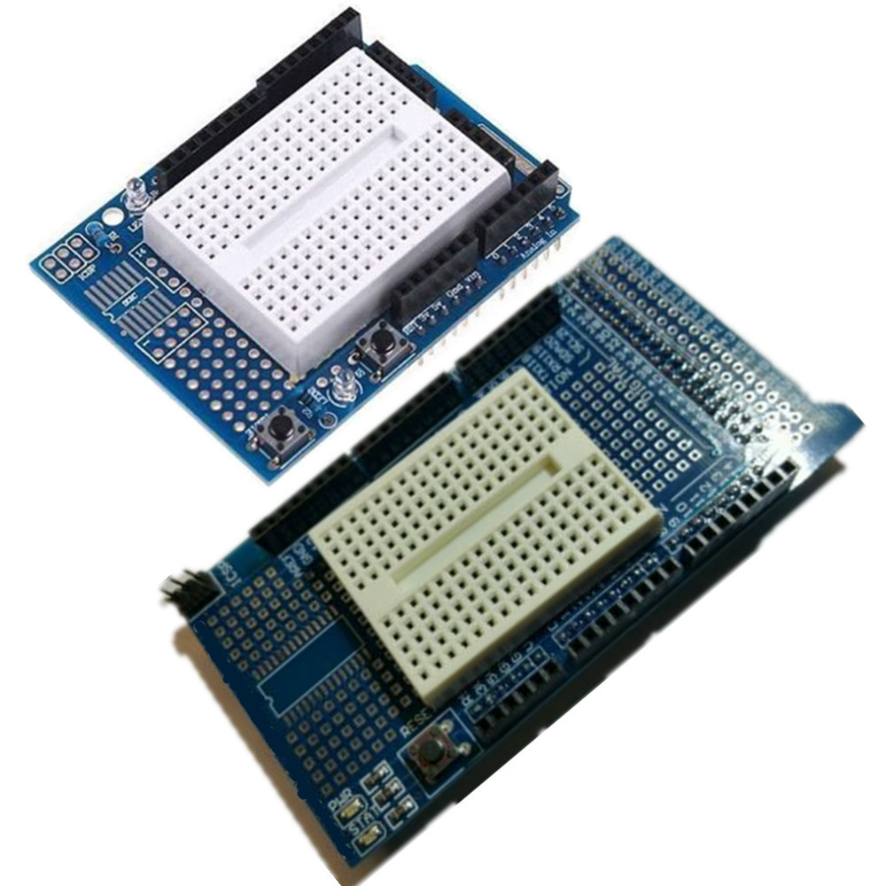 Prototype Mit Mini Shield Protoshield V3 Breadboard For Arduino Uno Breadboards Are Used To Electronic Circuits Without Having Mega2560 New