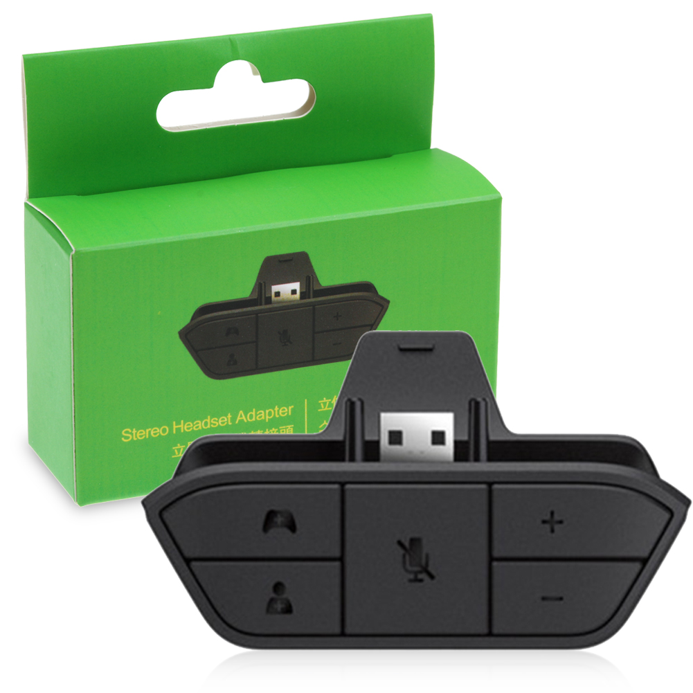 MICROSOFT XBOX ONE Stereo Headset Adapter - Adattatore ... Xbox One Headset Adapter Buttons