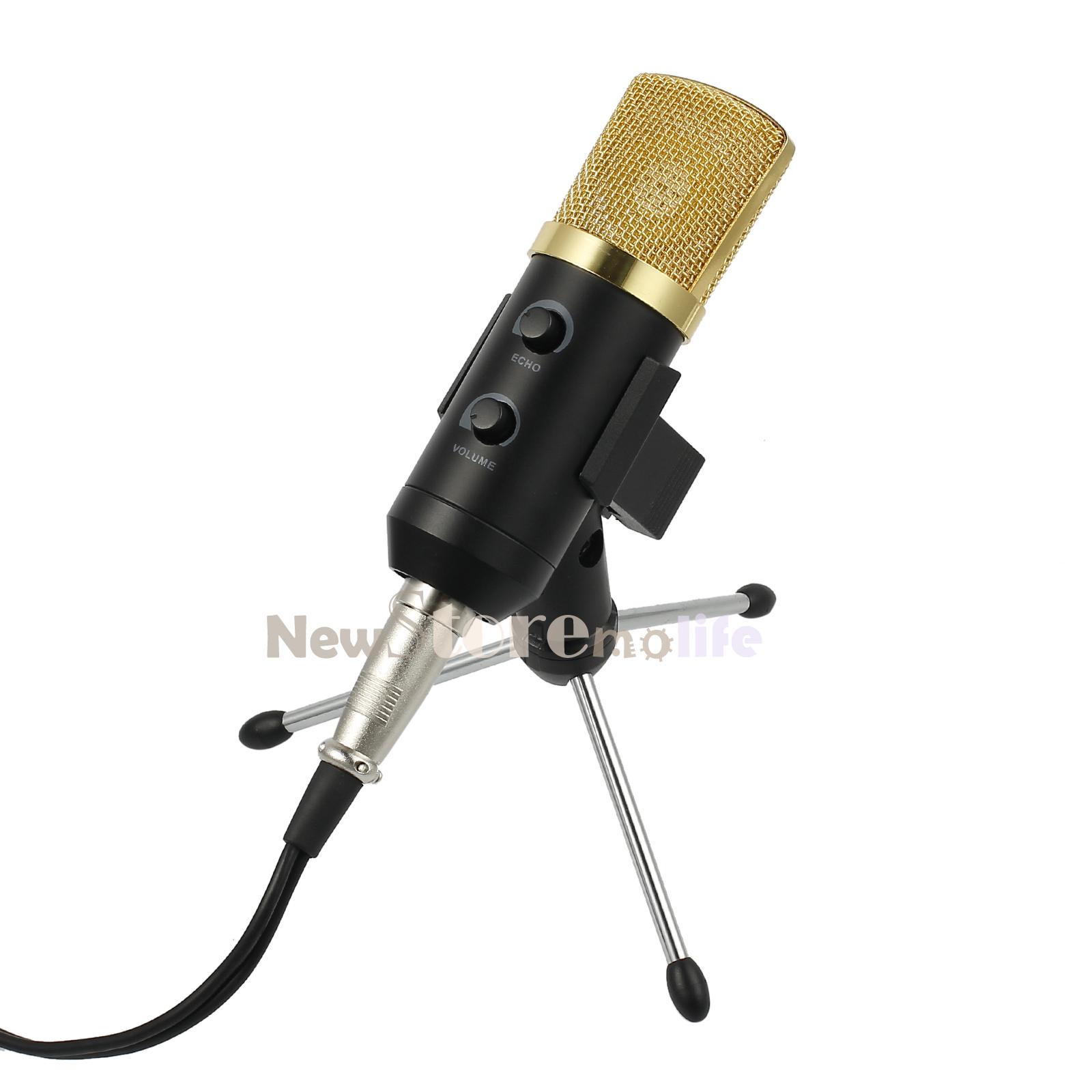 Computer USB-Studio Condenser Microphone Cardioid PC ...
