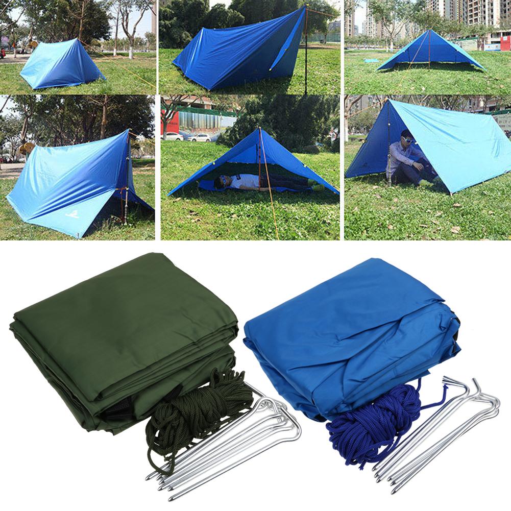 3 4 personen wurfzelt wasserdicht zelt familienzelt campingzelt tent ebay. Black Bedroom Furniture Sets. Home Design Ideas