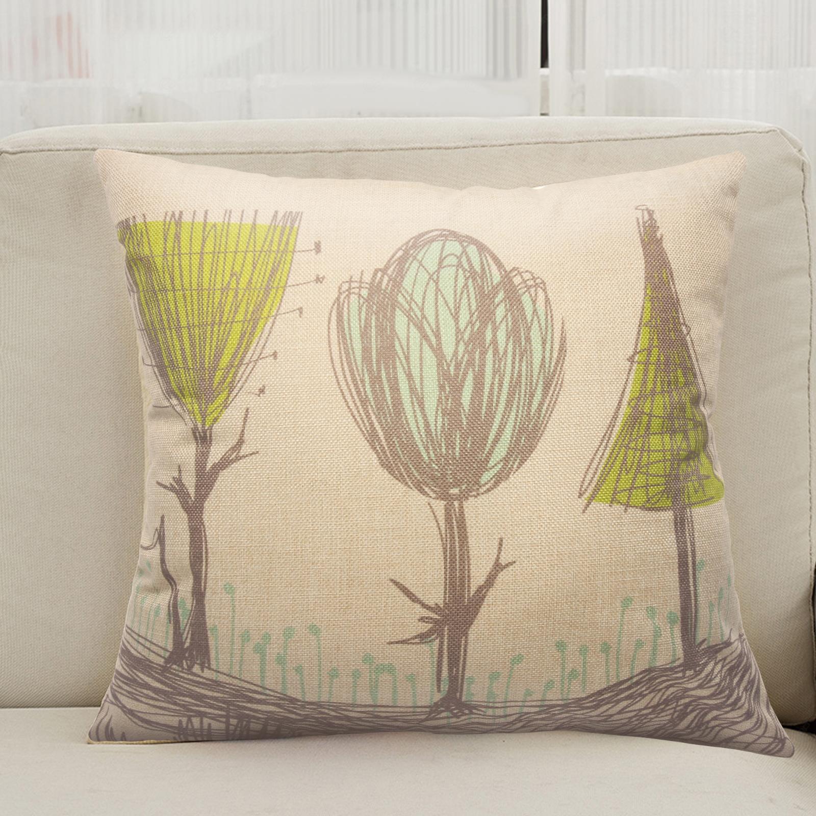 "Home Decor 18"" Vintage Sofa Throw Pillow Case Cushion Cover Inner"