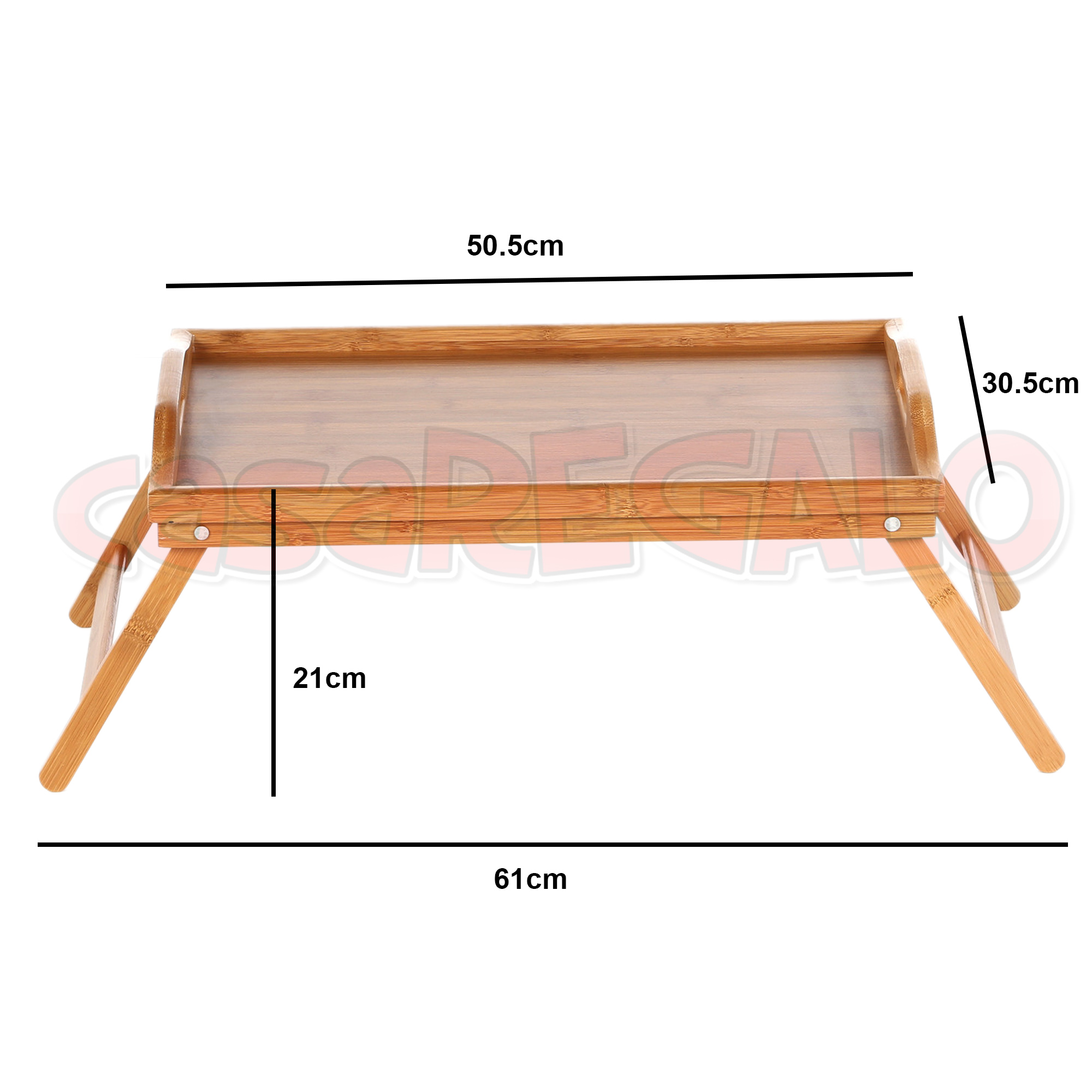 Wooden Bamboo Folding Tray Bamboo Fold Up Lap Tray Tea Coffee Table Breakfast Ebay