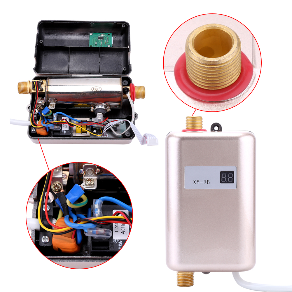 portable electric hot water camping