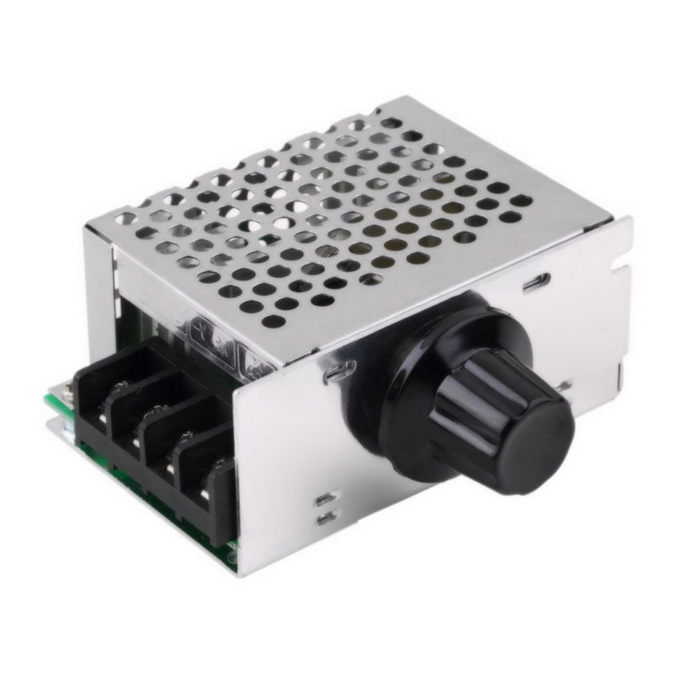 4000w 220v ac scr motor speed controller module voltage for Speed control of ac motor