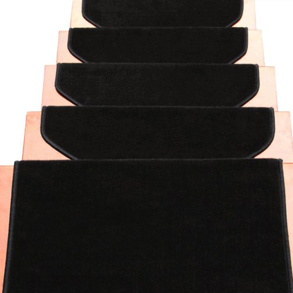 Black Carpet Stair Tread Mats Step Staircase Floor Mat