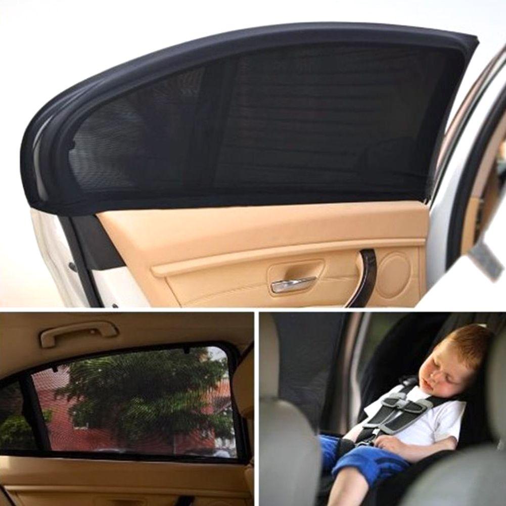 2x auto seitenfenster sonnenschutz sonnenblende blendschutz uv schutz f r baby ebay. Black Bedroom Furniture Sets. Home Design Ideas